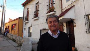 Eduardo Haye, vicepresidente de la Federación de Básquetbol de Chile.