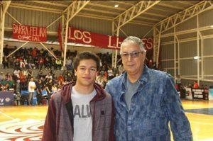Walter Figueroa, ex basquetbolista y ex Presidente Asociación de Básquetbol de Valparaíso.